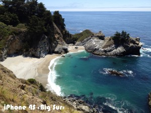 Снимок «Big Sur» на iPhone 4S