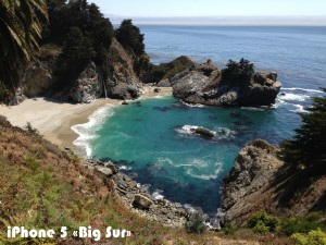 Снимок «Big Sur» на iPhone 5