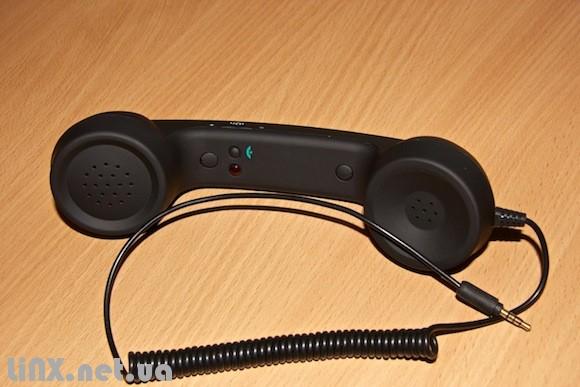 Трубка гарнитура для iPhone в стиле ретро. Coco phone.