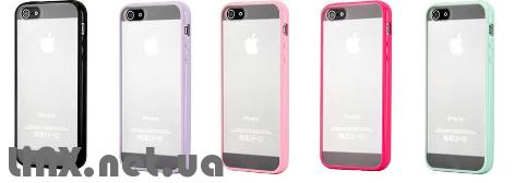 расцветки бамперов для iPhone 5