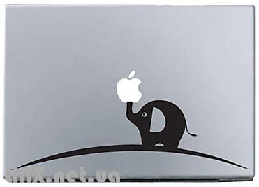 Наклейки на Mac слон