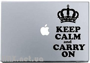 Наклейки на Mac корона