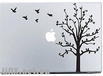 Наклейка на Mac лунная ночь