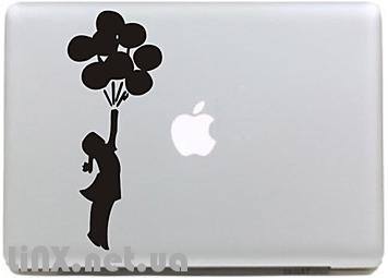 Наклейки на MacBook Pro шарики