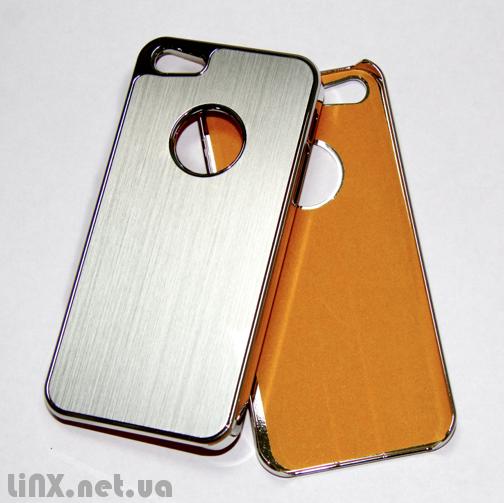 """Чехол для iPhone 5 """"поцарапанный метал"""""""