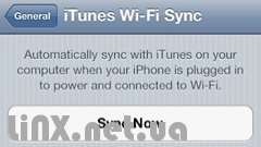 Синхронизация iTunes с iPhone по Wi-fi