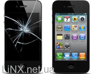 Стекло в iPhone 4
