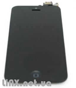 Стекло к iPhone 5 черное