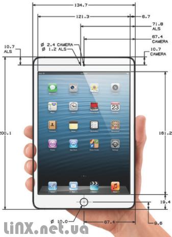 Дизайн iPad mini