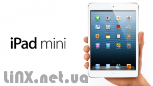 iPad mini в руке