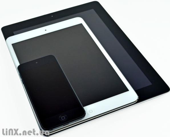 iPad mini сравнение экранов