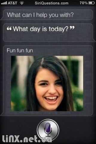 Посмеяться с Siri