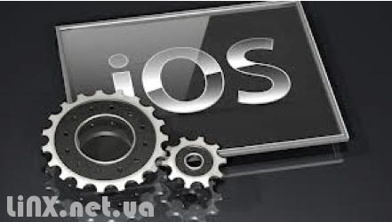 iOS шестиренка