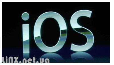 iOS черный фон