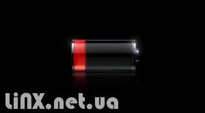низкий заряд батареи iPhone