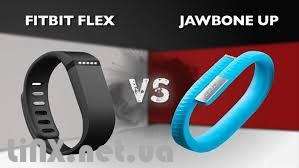 Fitbit Flex VS Jawbone Up 2